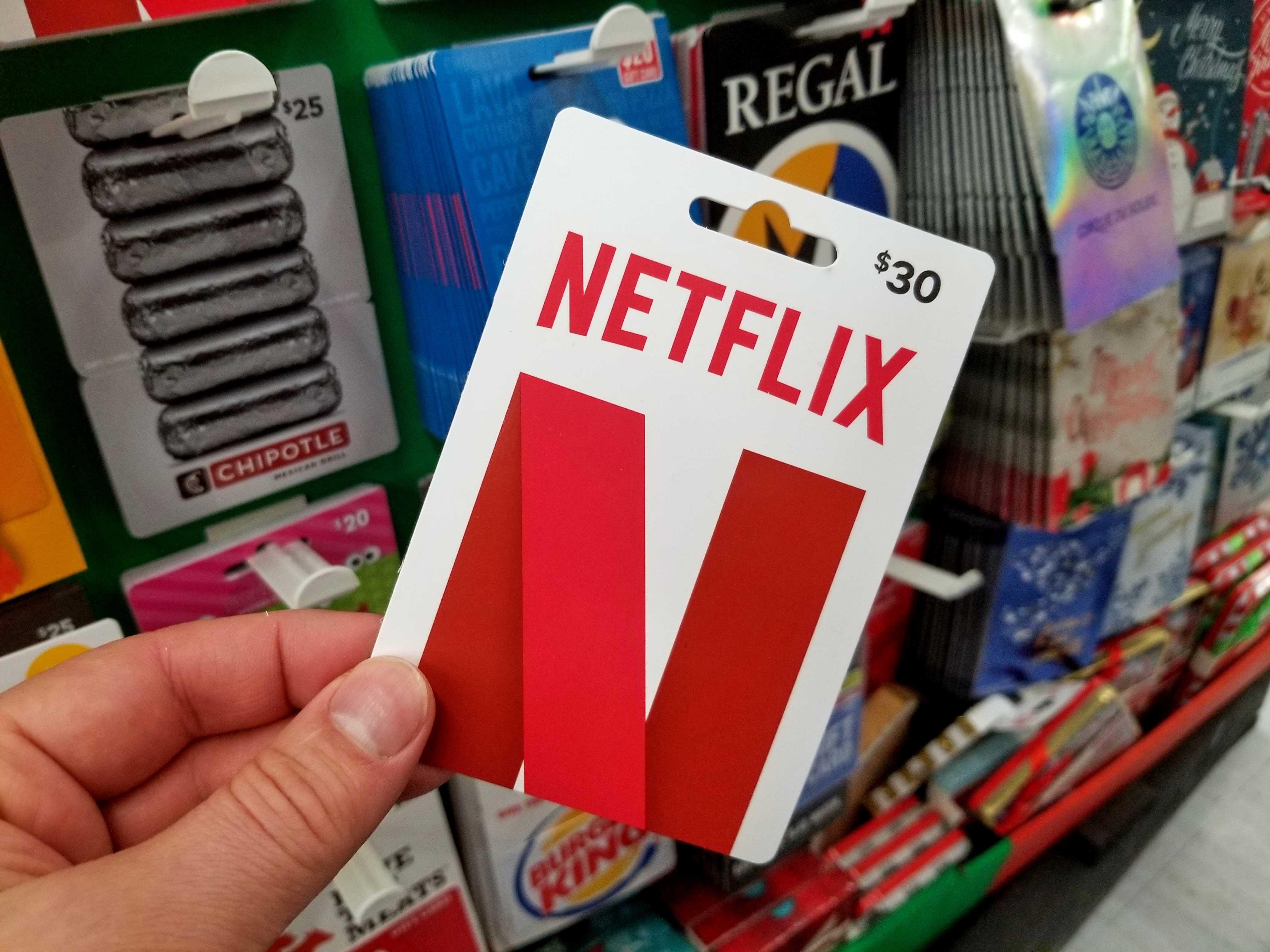 netflix-gift-card, The Game Tek, thegametek.com