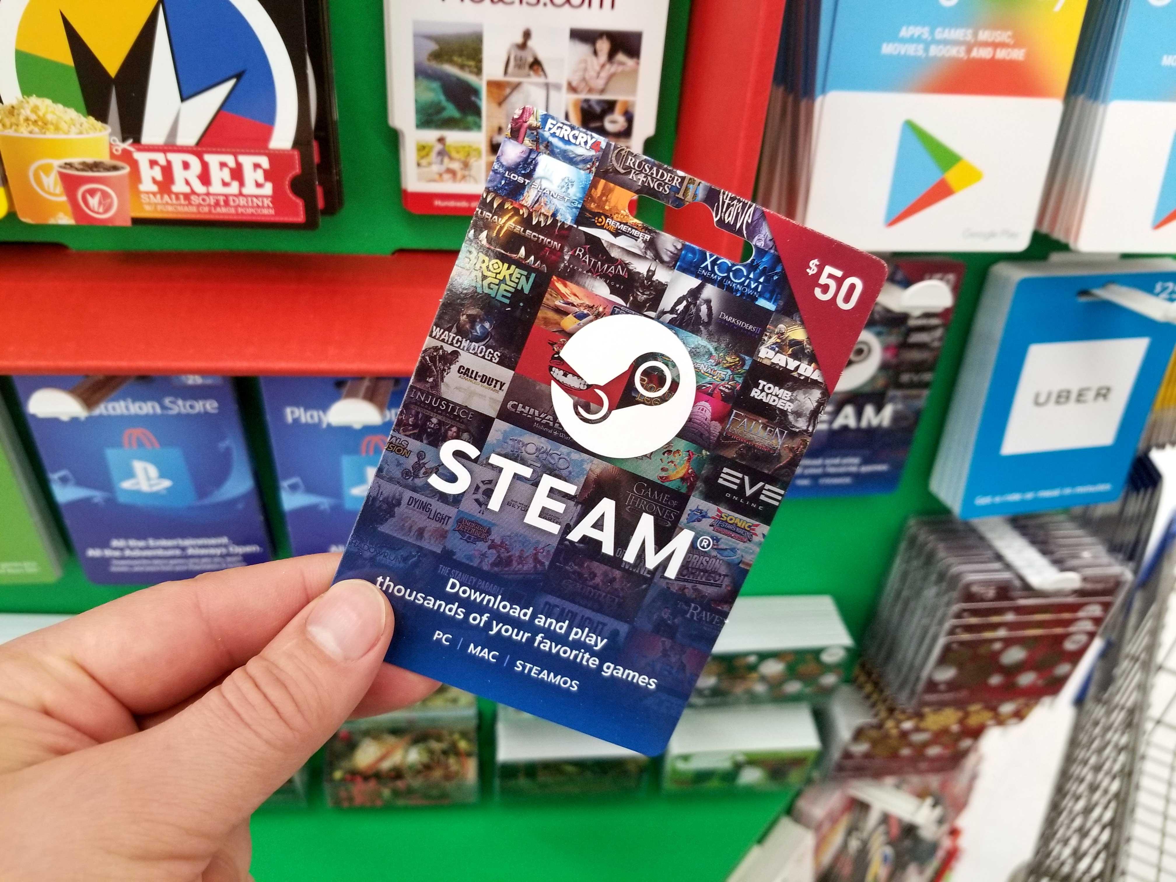 steam-gift-card, The Game Tek, thegametek.com